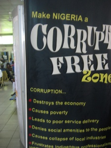 Make Nigeria a corruption-free zone