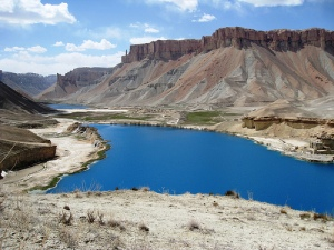 Band-e-Amir lakes in Bamyan province